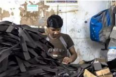印度皮革作坊苦工:彻夜工作睡地下室,每天收入不到30元