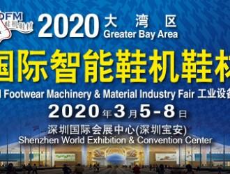 2020大湾区国际智能鞋机鞋材展
